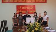 Công đoàn Bộ VHTTDL: Trao tặng 50 triệu đồng cho Quỹ Đền ơn đáp nghĩa Trung ương