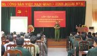 Tổ chức lớp tập huấn phòng chống tội phạm và ma túy, HIV/AIDS tại Cao Bằng