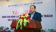 Khai mạc Lớp tập huấn nâng cao năng lực công chức chuyên trách cải cách hành chính