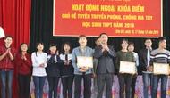 Hòa Bình: Hơn 1.000 học sinh tham gia Hội thi về phòng, chống ma túy học sinh THPT 2016
