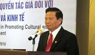 Khẳng định vai trò của Quyền tác giả đối với sự phát triển văn hóa và kinh tế