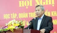 Học tập quán triệt triển khai Nghị quyết Hội nghị lần thứ 4 BCH TƯ Đảng khóa XII