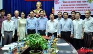 Bộ trưởng Nguyễn Ngọc Thiện làm việc với Ban thường vụ Đảng ủy Khối cơ sở phía Nam