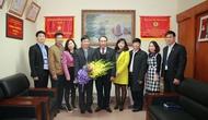 Công bố Quyết định Công nhận Chủ tịch Công đoàn Bộ VHTTDL khóa II nhiệm kỳ 2013-2018