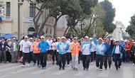 Hơn 350.000 người dân Hà Nội tham gia ngày chạy Olympic 2017