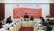 Hội thảo tham vấn xây dựng báo cáo đánh giá Luật Phòng, chống bạo lực gia đình