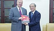 Tổng cục trưởng Tổng cục TDTT tiếp Đại sứ Liên bang Nga tại Việt Nam