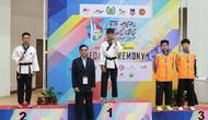 Vận động viên Hậu Giang tham gia Giải vô địch trẻ quyền taekwondo châu Á 2017