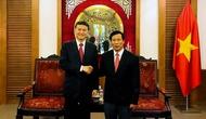 Bộ trưởng Bộ VHTTDL Nguyễn Ngọc Thiện tiếp Chủ tịch Liên đoàn cờ vua thế giới