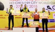 Cơ thủ Việt Nam vô địch Billiards 3 băng thế giới