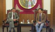 Thứ trưởng Vương Duy Biên tiếp Đại sứ Anh tại Việt Nam