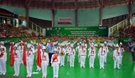 Hội thi thể dục buổi sáng, thể dục giữa giờ và võ cổ truyền tại Bắc Giang