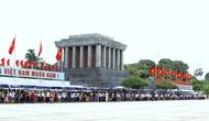 Tạm ngừng tổ chức lễ viếng Lăng Chủ tịch Hồ Chí Minh trong 2 tháng