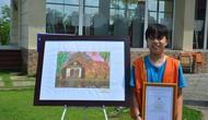 Tổ chức vẽ tranh thiếu nhi tại Làng Văn hóa - Du lịch các dân tộc Việt Nam
