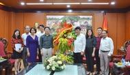 Thứ trưởng Bộ VHTTDL Vương Duy Biên chúc mừng các cơ quan báo chí nhân dịp 21/6