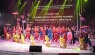 Nhiều điểm mới tại Liên hoan Ca Múa Nhạc toàn quốc 2018