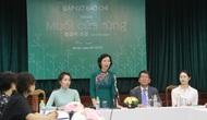 """Triển lãm """"Muối của rừng"""" tăng cường tình hữu nghị Hàn - Việt"""