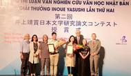 Trao giải Cuộc thi luận văn nghiên cứu văn học Nhật Bản giải thưởng Inoue Yasushi