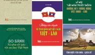 Giới thiệu bộ sách về mối quan hệ gắn bó Việt – Lào
