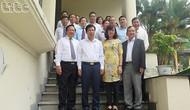 Bộ trưởng Nguyễn Ngọc Thiện thăm và chúc mừng Tổng cục Du lịch nhân dịp kỷ niệm thành lập Ngành