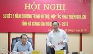 Hội nghị sơ kết 5 năm chương trình hỗ trợ, hợp tác phát triển du lịch tỉnh Hà Giang giai đoạn 2013-2018