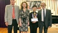 Việt Nam giành giải nhất cuộc thi Piano quốc tế tại Thái Lan