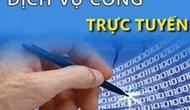 Ban hành Danh mục dịch vụ công trực tuyến mức độ 3, mức độ 4