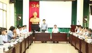 Thứ trưởng Lê Quang Tùng dự và chỉ đạo hội nghị giao ban tháng 8 của Tổng cục Du lịch