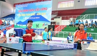 Khai mạc Giải Bóng bàn, Cầu lông gia đình toàn quốc 2018