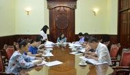 Báo cáo công tác chuẩn bị Hội nghị tổng kết 10 năm thi hành Luật Phòng, chống bạo lực gia đình