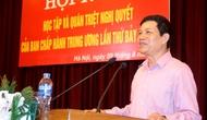 Tổng cục TDTT tổ chức Hội nghị quán triệt nghị quyết Trung ương 7