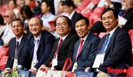 Bộ trưởng Nguyễn Ngọc Thiện dự Lễ khai mạc ASIAD 2018