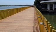 Huế: Tuyến đường đi bộ dọc sông Hương đưa vào sử dụng từ 15/9