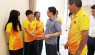 Phó Thủ tướng Vũ Đức Đam gặp mặt đội tuyển bóng đá nữ Việt Nam