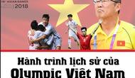 [Infographic] Hành trình lịch sử của thầy trò HLV Park Hang-seo đến trận tranh huy chương đồng