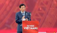 """Bộ trưởng Nguyễn Ngọc Thiện: """"Cảm ơn người hâm mộ cả nước luôn dành tình yêu vô bờ bến cho thể thao nước nhà"""""""