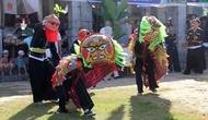 Giới thiệu nghệ thuật múa sư tử mèo tại Làng Văn hóa - Du lịch các dân tộc Việt Nam