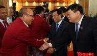 Bộ trưởng Nguyễn Ngọc Thiện chào mừng Đoàn Thể thao Việt Nam trở về