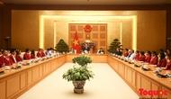 Thủ tướng gặp mặt Đoàn Thể thao Việt Nam tham dự ASIAD 18