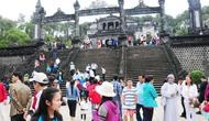 Hơn 3,19 triệu lượt khách du lịch đến Huế trong 8 tháng năm 2018