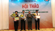 Trao chứng nhận Giải thưởng Du lịch ASEAN
