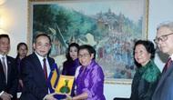 Thứ trưởng Lê Khánh Hải thăm và làm việc tại Campuchia