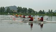 Trên 360 vận động viên tham gia Giải Rowing và Canoeing trẻ toàn quốc 2018