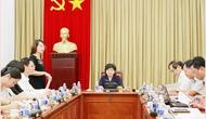 Uỷ ban Văn hoá, Giáo dục, Thanh niên, Thiếu niên và Nhi đồng khảo sát việc thi hành Pháp lệnh Thư viện tại Thư viện Quốc gia Việt Nam