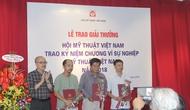 Lần đầu tiên ngành Phê bình mỹ thuật có sách đạt giải thưởng Mỹ thuật Việt Nam