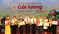 Bế mạc Liên hoan Cải lương toàn quốc 2018