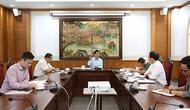 Bộ trưởng Nguyễn Ngọc Thiện làm việc với Cục Nghệ thuật biểu diễn