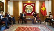 Bộ Văn hóa, Thể thao và Du lịch tiếp đoàn Chính quyền tự trị vùng Catalonia (Tây Ban Nha)
