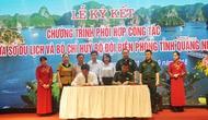 Quảng Ninh: Sở Du lịch và Ban Chỉ huy Bộ đội Biên phòng ký kết chương trình hợp tác