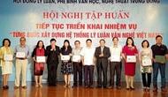 """Bế mạc Hội nghị tập huấn """"Từng bước xây dựng hệ thống lý luận văn nghệ Việt Nam"""""""